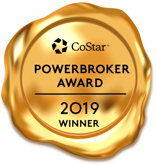 CoStar PowerBroker Award  2019 Winner