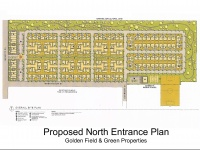 Proposed North Entrance Site Plan