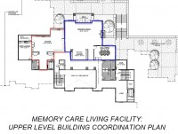 MC Facility - Dining/Kitchen Plan - Upper Level