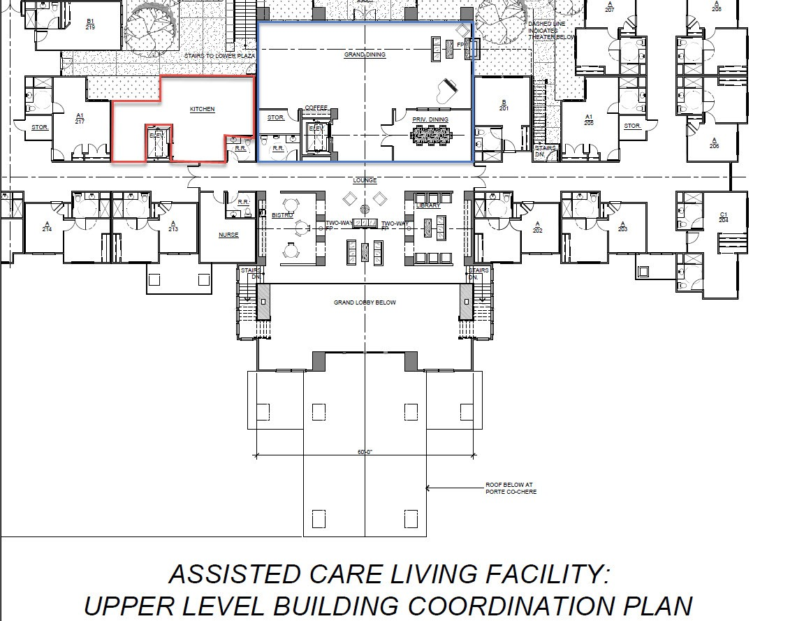 Brookdale senior living floor plans thecarpets co for Floor plans health care facilities