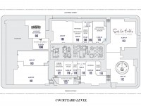 Courtyard Level - Site Plan