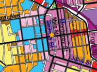 Downtown Zoning Map